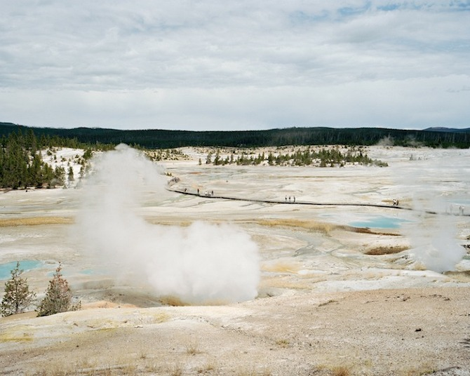 13 Yellowstone%201 Re creational Spaces by Jessica Auer in THISISPAPER MAGAZINE