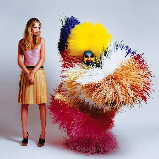 Creature Couture, Ted Sabarese, fashion, photography, thisispaper, magazine