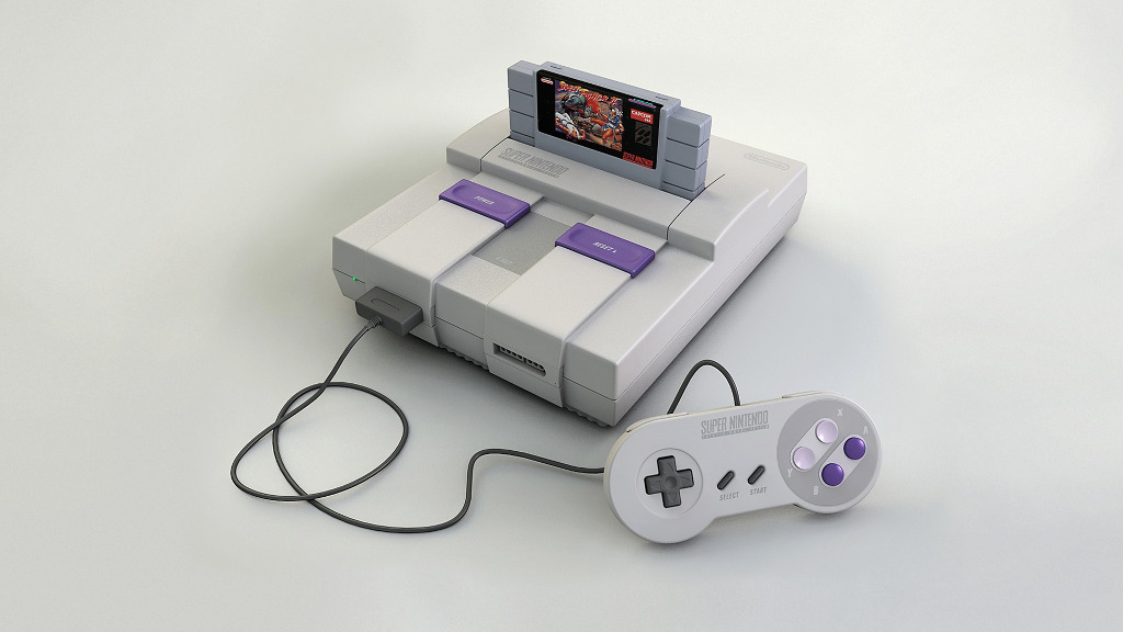 90s Video Game Console...