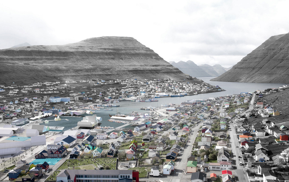 Resultado de imagem para Klaksvík